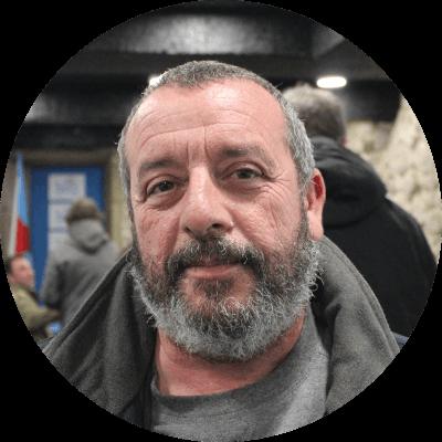 Antonio Lozano, candidato do Bloque Nacionalista Galego da Coruña