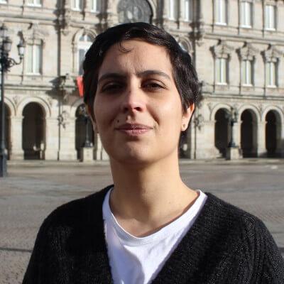 Avia Veira, número 2 da candidatura do Bloque Nacionalista Galego da Coruña