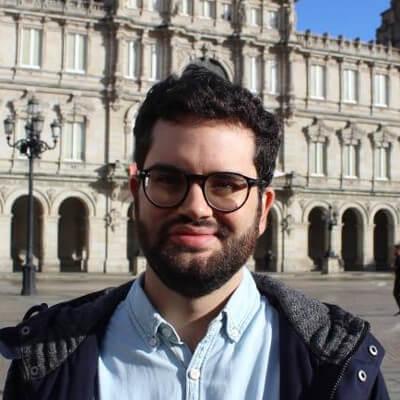 David Soto, número 5 do Bloque Nacionalista Galego da Coruña