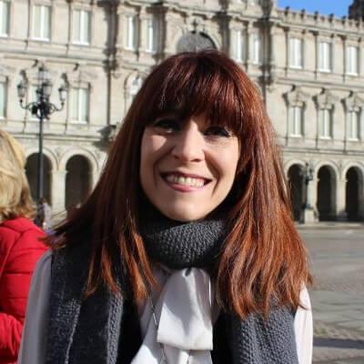 Isabel Risco, número 6 do Bloque Nacionalista Galego da Coruña