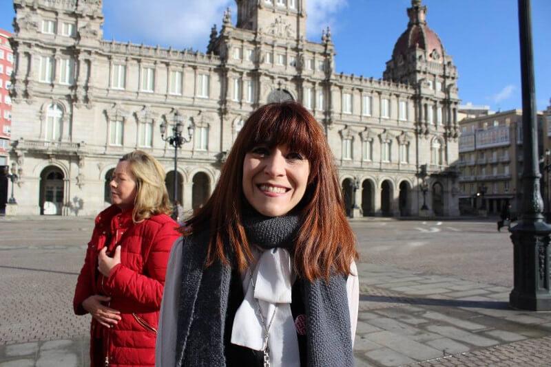 Isabel Risco, candidata número 5 do Bloque Nacionalista Galego da Coruña