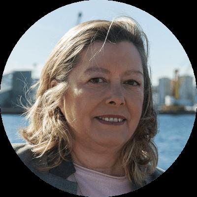 MAría Seixo, número 8 da candidatura do Bloque Nacionalista Galego da Coruña