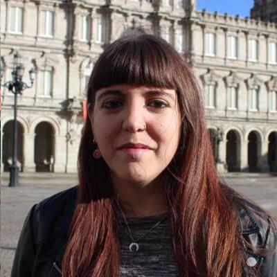 Patricia Cordo, número 4 do Bloque Nacionalista Galego da Coruña